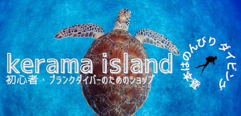 慶良間諸島ダイビングツアーとウミガメ